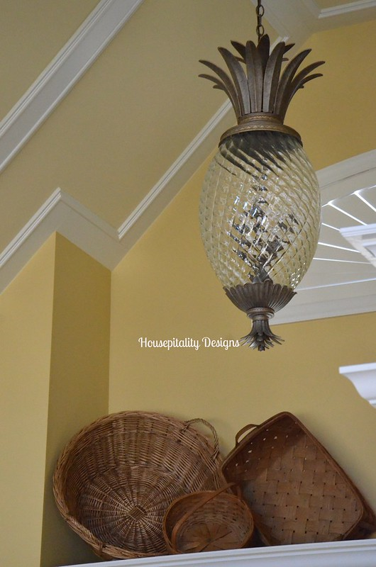Vintage Baskets/Foyer Ledge-Housepitality Designs