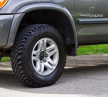 Tundra Tire rotation