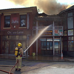 Another fire at Sandos in Preston - 3