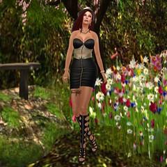 Loordes Tuscany Triad Top and skirt Loordes Akoya Pearls Legendaire Ciara Boots_001