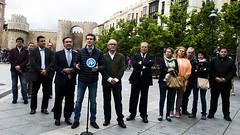 Pablo Casado asiste a los actos de celebración del Corpus Christi en Ávila