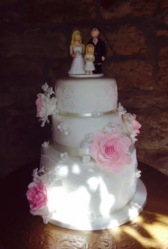 Wedding Elegance Cake by Jill Todd from Treat Someone To Cake