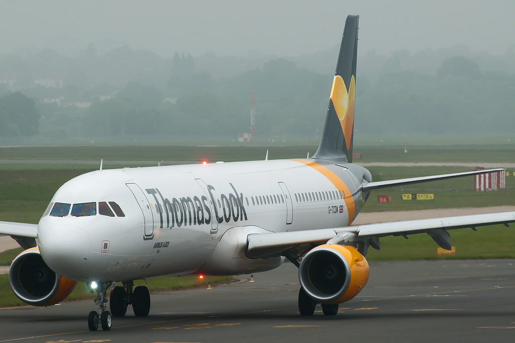 G-TCDM - A321 - Thomas Cook Airlines