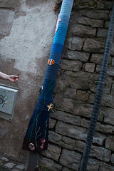 Yarn bombing Besançon 03