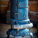 Wood Burning Stove, South Park City, Colorado by Judy Yovin Doherty