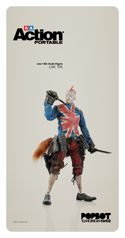 threeA –【Action Portable 第二波】1/12 比例 BAMBALAND 網路商店開賣啦!!