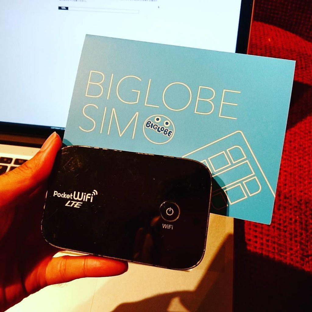 BIGLOBE SIM契約done. 余ってたルーターに挿してみた。快適にLTEで使えてます。まぁ、このルーター使わないのだけど。  #BIGLOBE #格安SIM