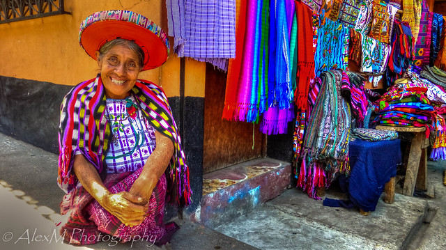 The Mayan Lady