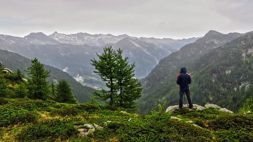 La Valle di Campo, vista dalla Cavegna - Ticino - Svizzera