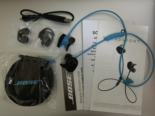BOSE SoundSport Unboxing