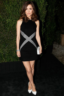 Rose Byrne White Pumps Celebrity Style Women's Fashion
