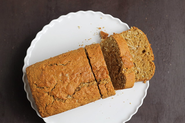 Coconut Bread from above