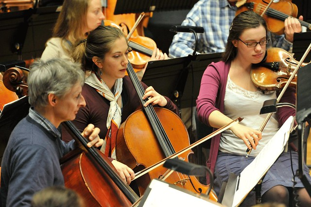 The Southbank Sinfonia taking part in the Royal Opera House's Side by Side development day © ROH, 2013