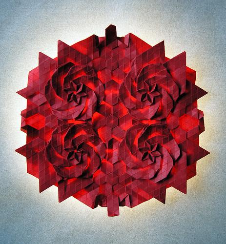 Origami Camellia (Melina Hermsen)