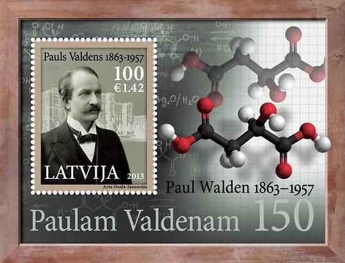 """Pastmarku bloks """"Paulam Valdenam - 150"""""""