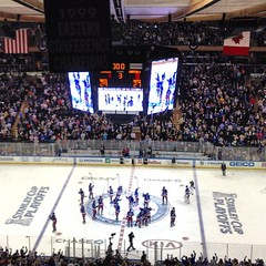 Rangers win! Force a game 7! No filter needed! #nyrbelieve