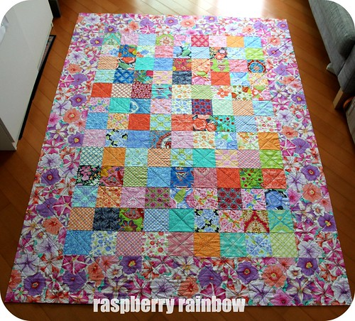 Quilt top, all finished.