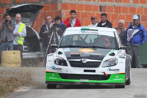 Pedro Meireles / Mário Castro - Skoda Fabia S2000 - Rali Vidreiro 2013