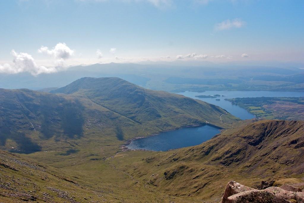 Cruachan Reservoir and Loch Awe