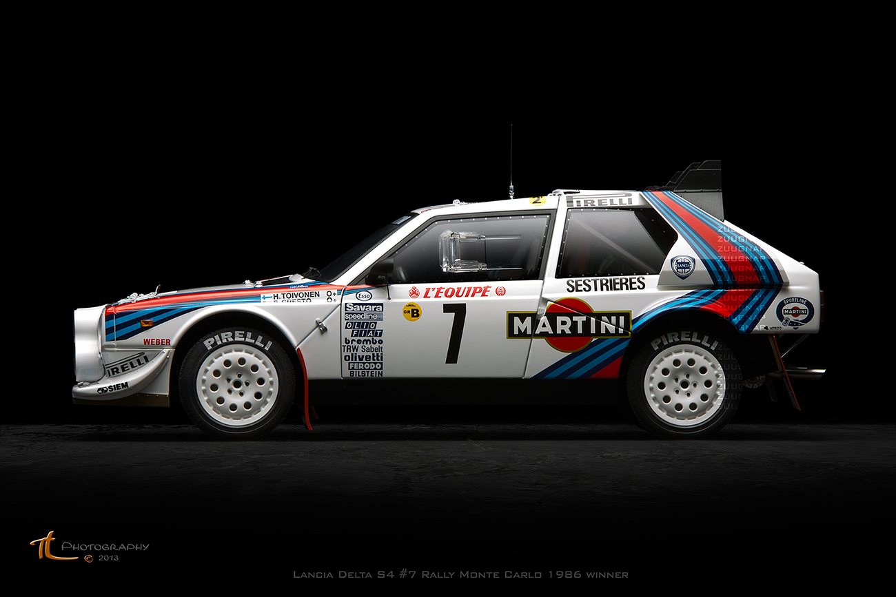 another autoart lancia delta s4 7 rally monte carlo 1986 winner dx rally cars. Black Bedroom Furniture Sets. Home Design Ideas