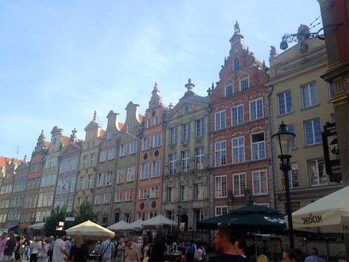 Gdansk downtown