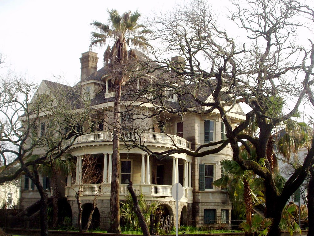 Galveston East End: Clarke-Jockusch Home, 1895, Victorian … | Flickr