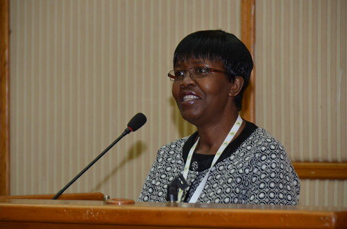 Lindiwe Majele Sibanda at Africa Agriculture Science Week