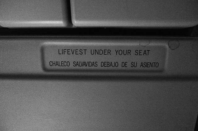 under your seat