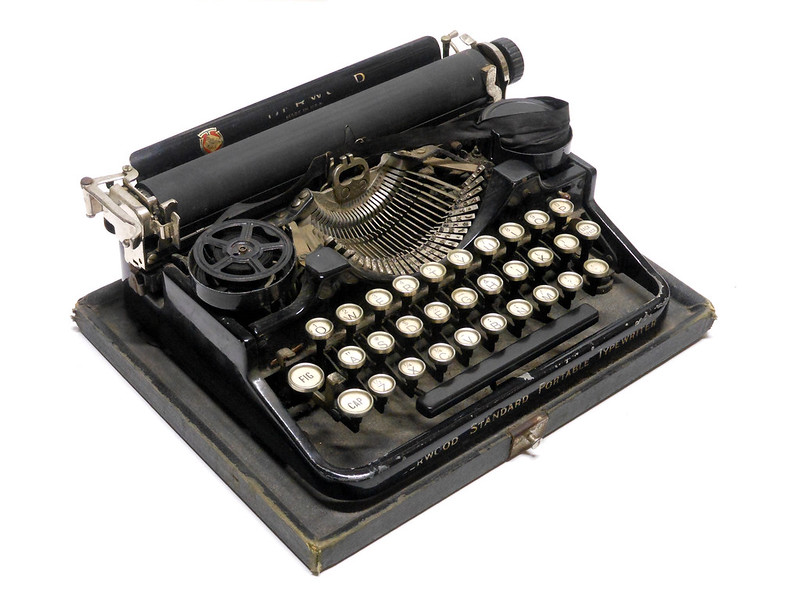 Underwood Standard Portable (Three Bank)