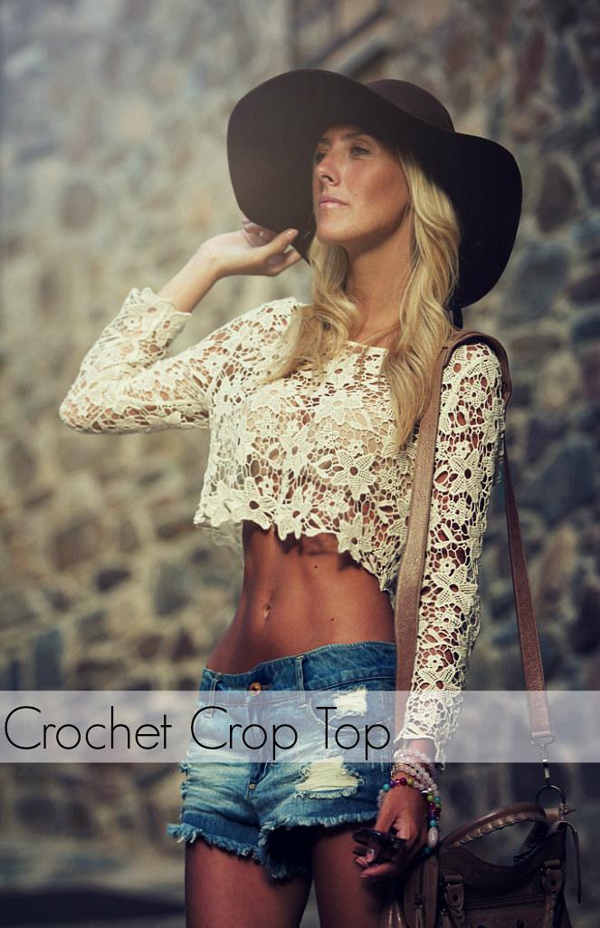 style lover crop top VIII