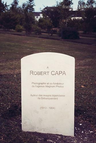 Robert Capa Memorial - Bayeux