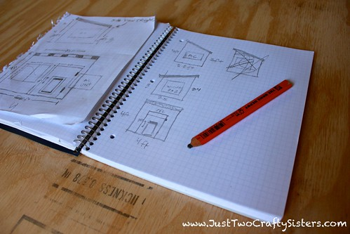Dog house plan drawings