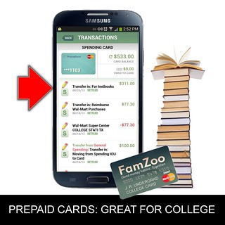 Prepaid Cards: Great for College