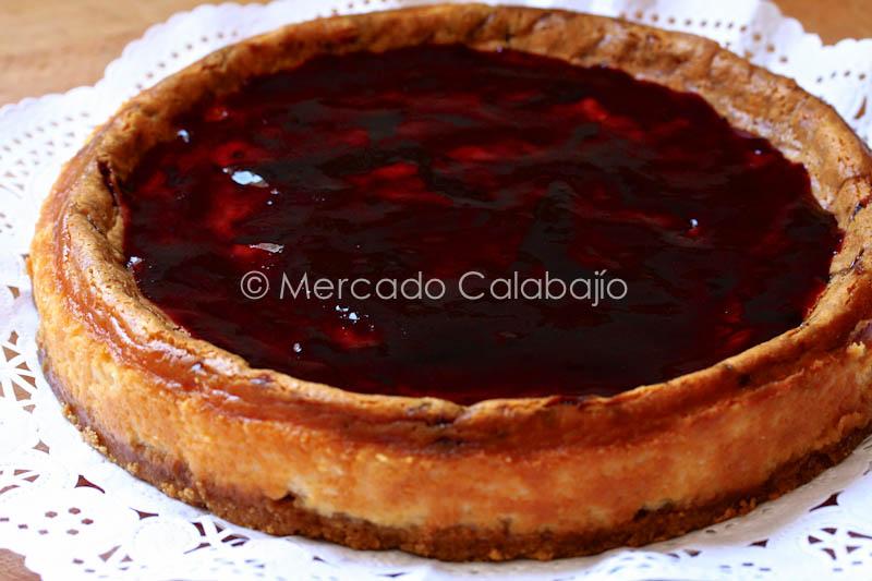 Tarta De Queso Y Chocolate Blanco Receta Mercado Calabajío