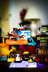 Toys and book