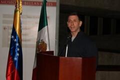"""Rubén Wisotzki, Director del Museo de Bellas Artes en la exposición """"Posada. Imagen y tinta de lo mexicano"""", Venezuela"""