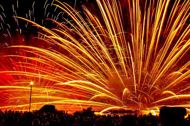 2013 諏訪湖新作花火大会(2013 SUWAKO New Fireworks)