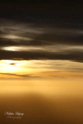 africa above green clouds plane sunrise photography nigeria rays kano canon7d