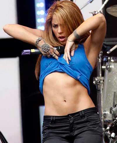 """Shakira se ganó el premio de """"las curvas más sexy"""""""