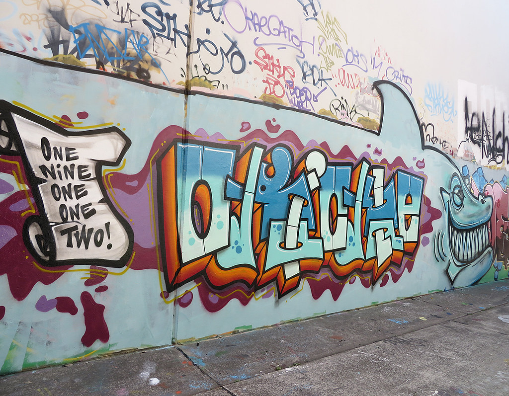 43 Bedford Street Newtown street art