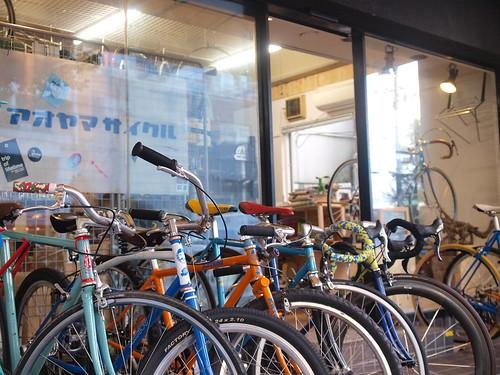 Aoyama cycle & Cicli KATSUO  / アオヤマサイクル & チクリカツオ