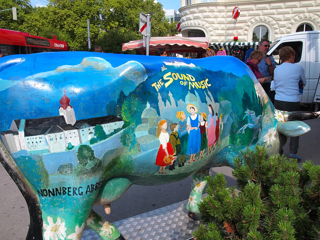 Salzburg Sound of Music cow