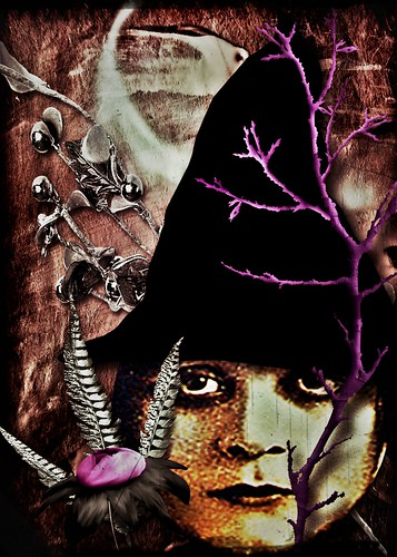 Midnight Witch ..version 1 by ann divelbiss