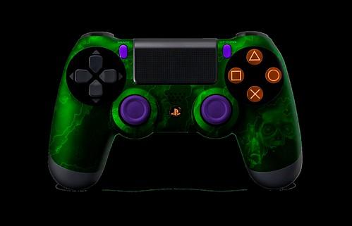 PS4Controller-GreenZombieHazard