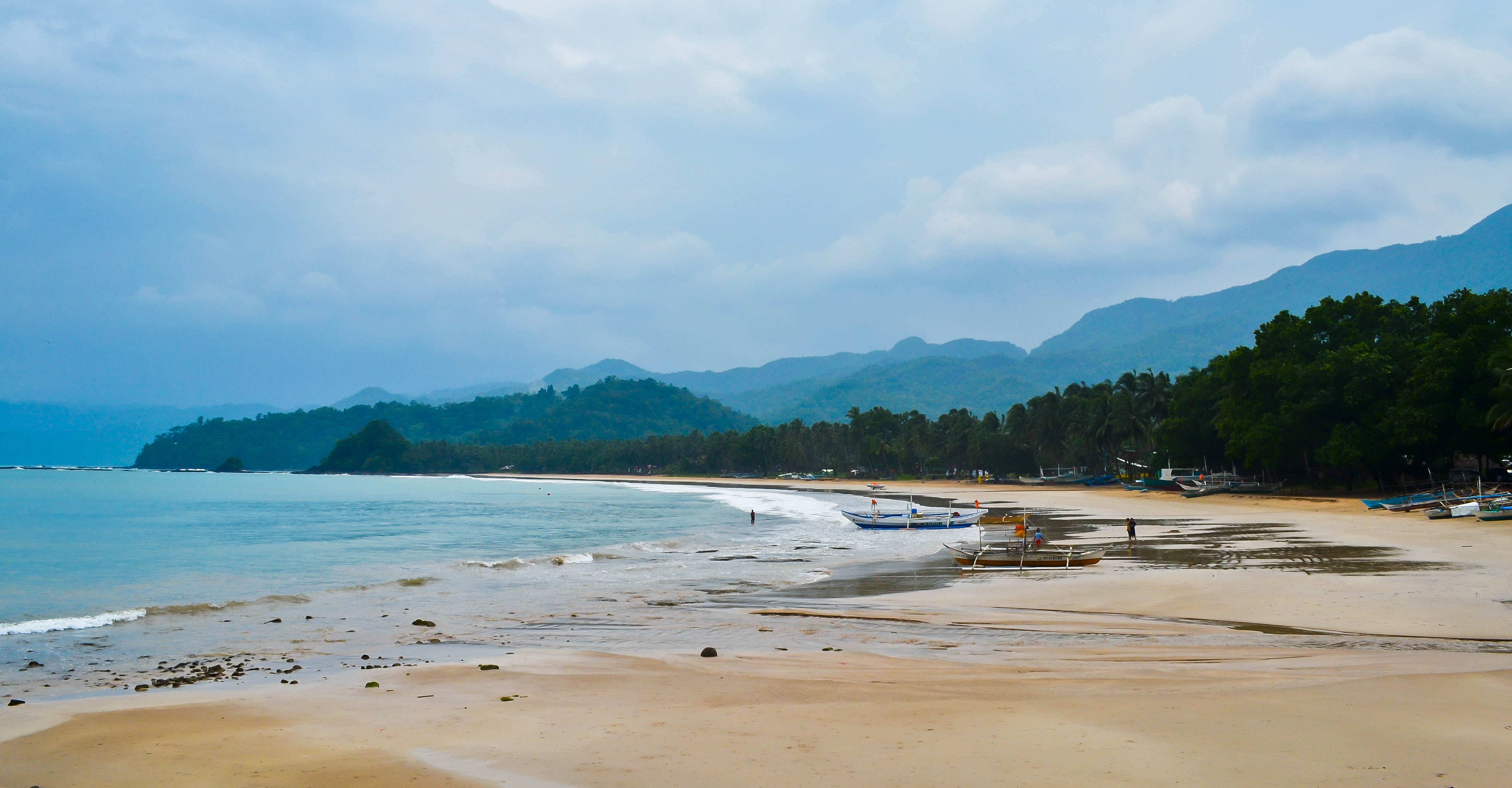 Join the locals at Sabang Beach