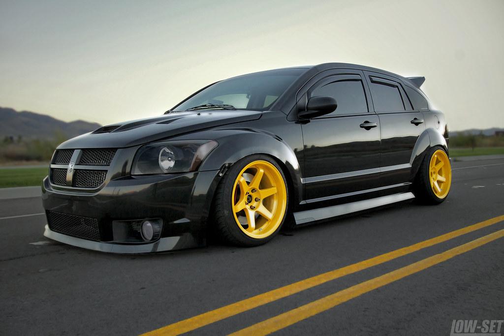 Stanced Dodge Caliber