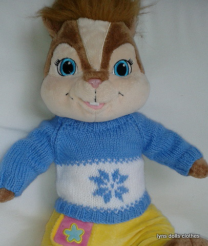 BUILD A BEAR SWEATER KNITTING PATTERN ? KNITTING PATTERN