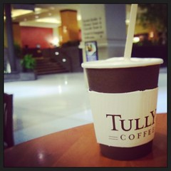 #goodmorning #tullyscoffee is not #starbucks but it's ok