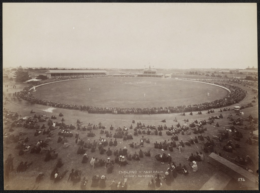 Cricket match between England and Australia, Sydney, New South Wales, 3 February 1892 / Charles Bayliss