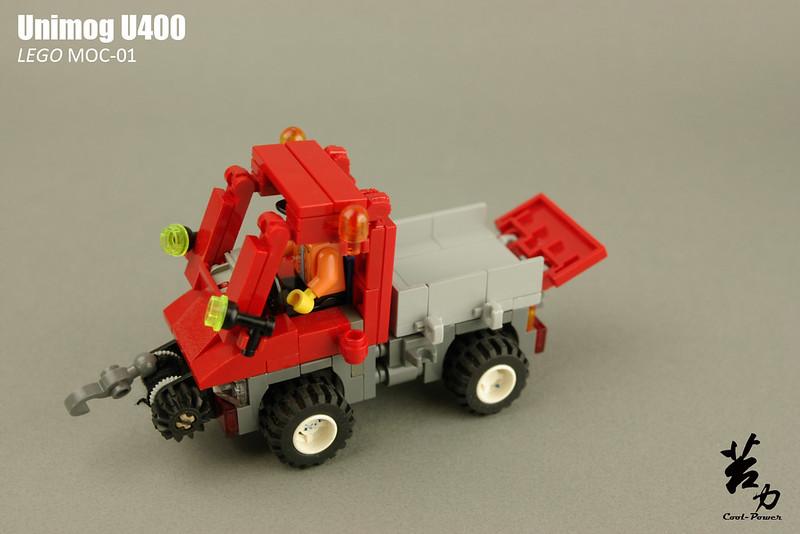 Lego Unimog U400-0013